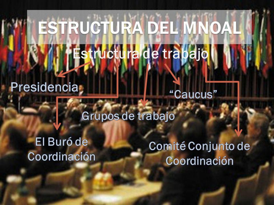 El Buró de Coordinación Comité Conjunto de Coordinación