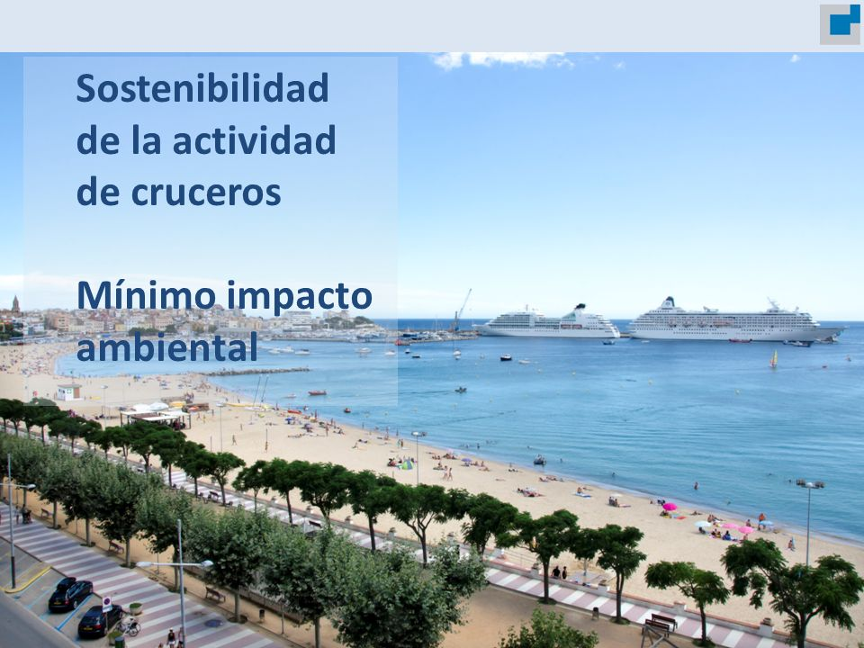 Sostenibilidad de la actividad de cruceros