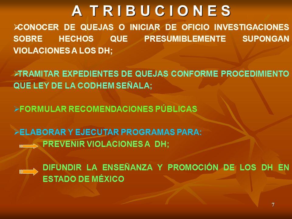 FORMULAR RECOMENDACIONES PÚBLICAS ELABORAR Y EJECUTAR PROGRAMAS PARA: