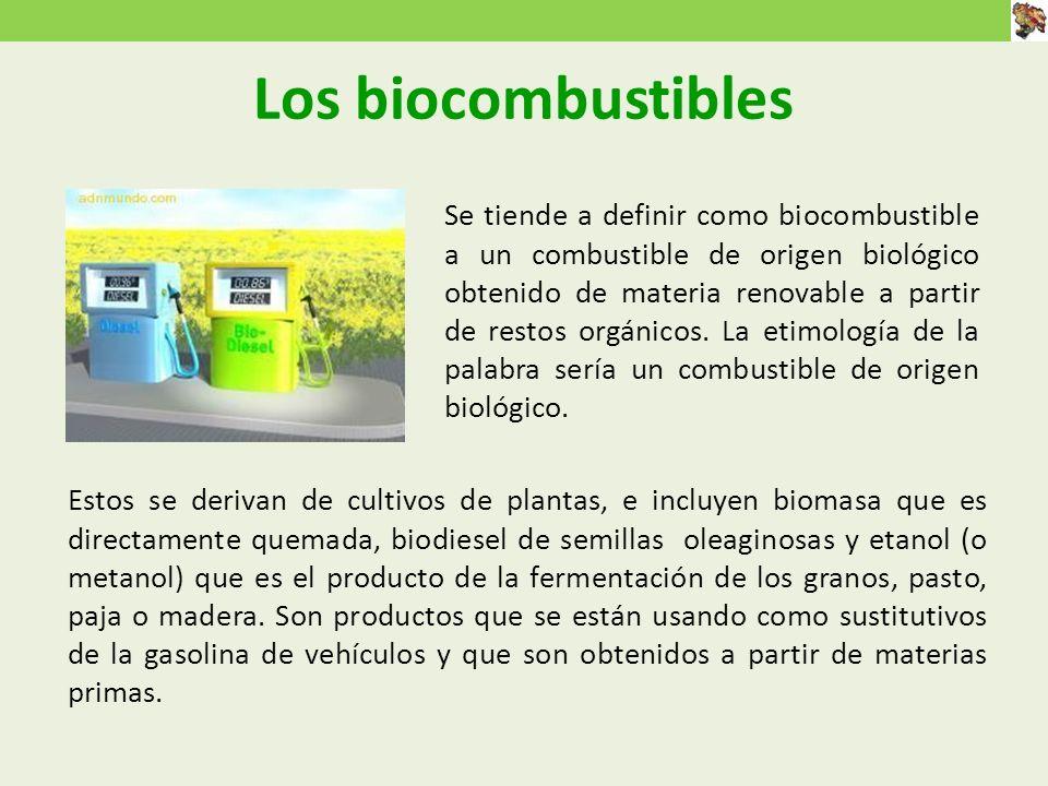 Los biocombustibles