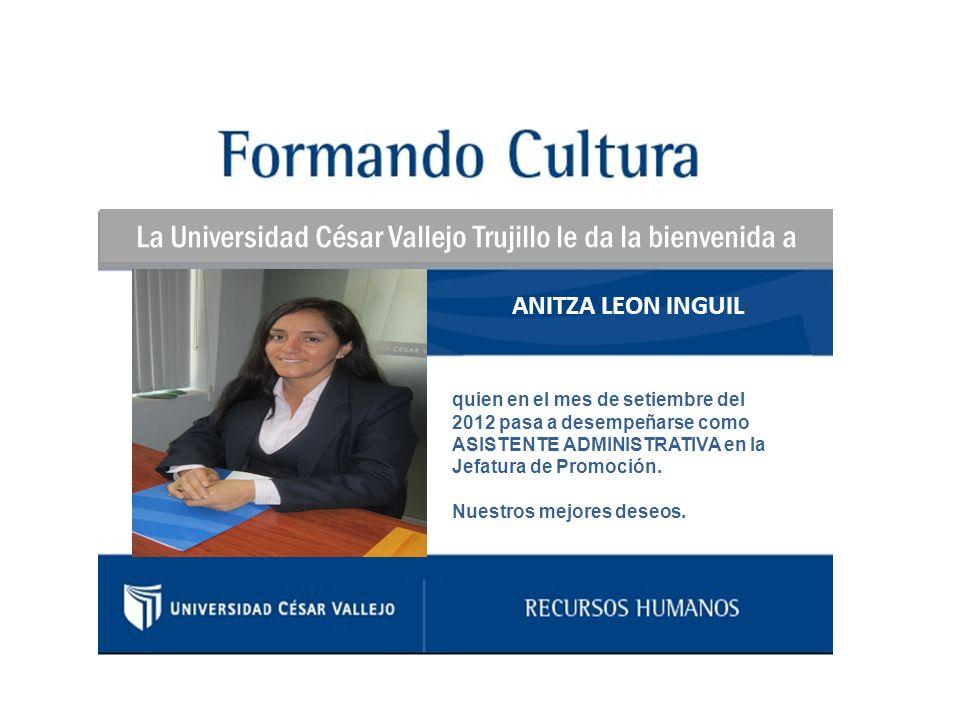 La Universidad César Vallejo Trujillo le da la bienvenida a