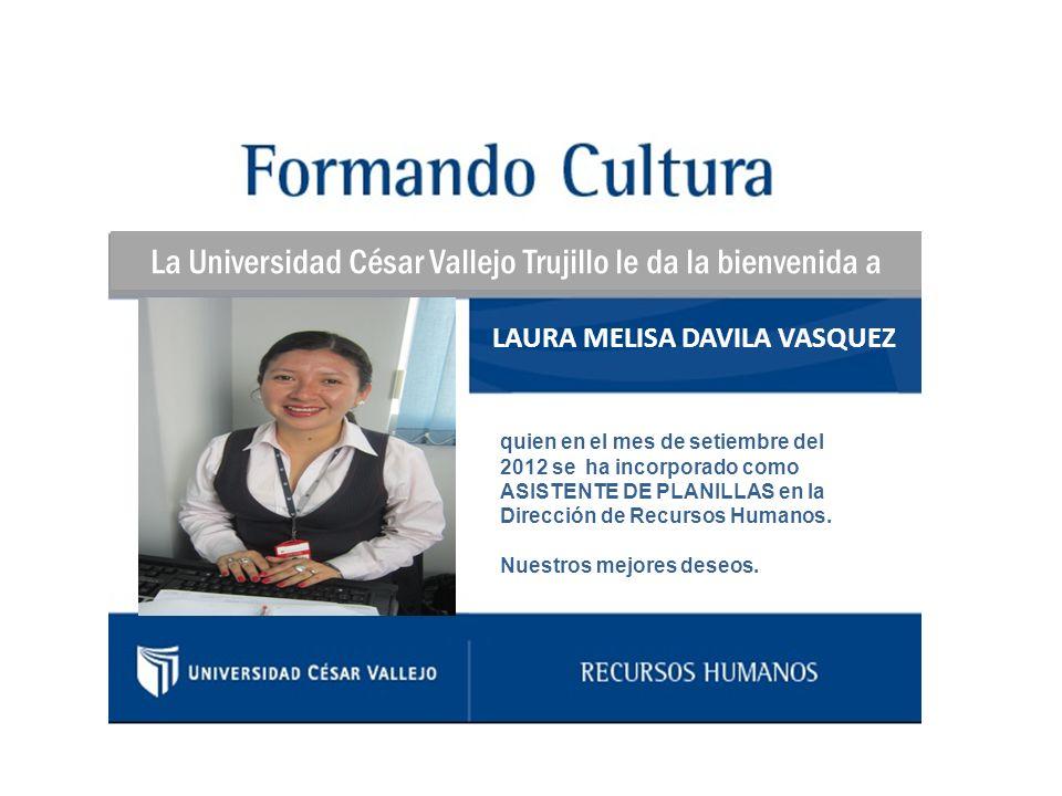 LAURA MELISA DAVILA VASQUEZ