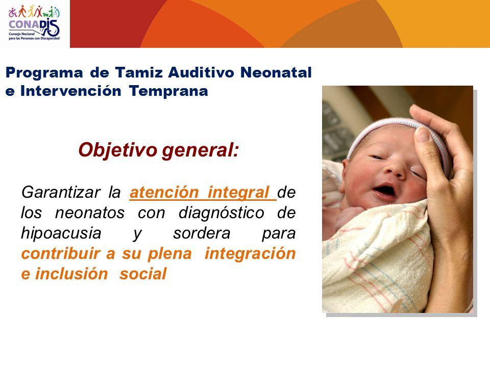 Programa de Tamiz Auditivo Neonatal