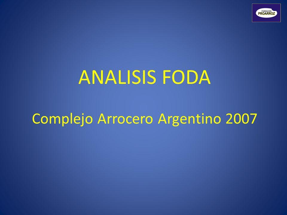 Complejo Arrocero Argentino 2007