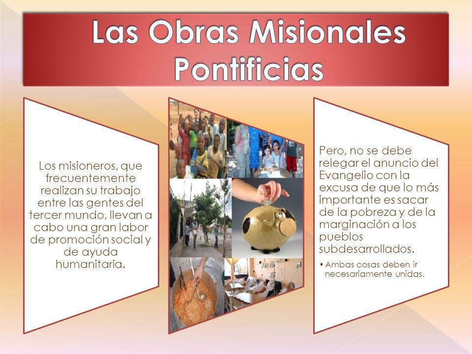 Las Obras Misionales Pontificias