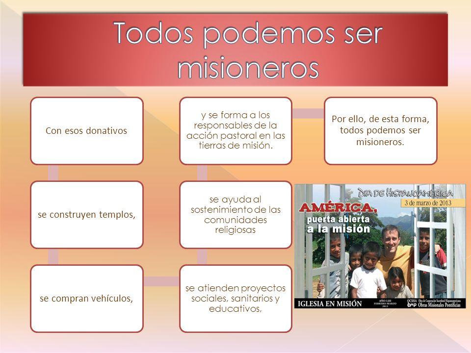 Todos podemos ser misioneros