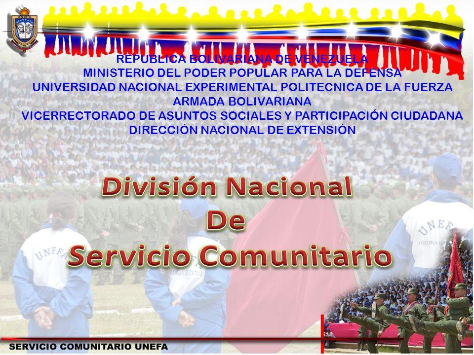 División Nacional De Servicio Comunitario
