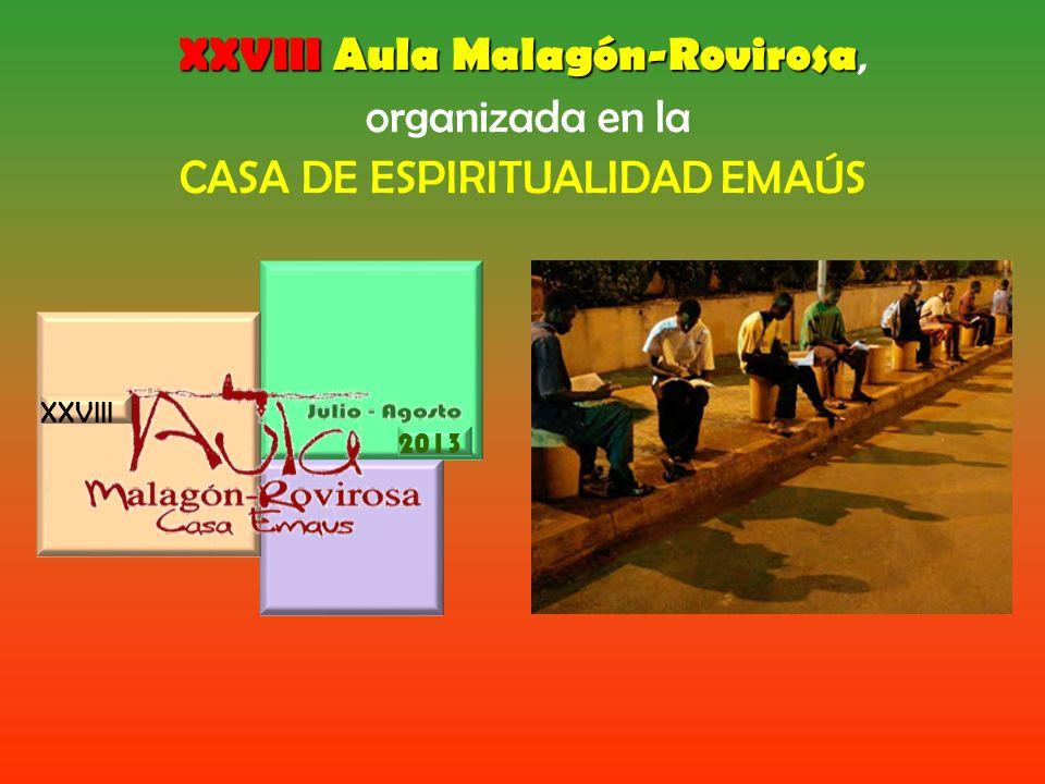 XXVIII Aula Malagón-Rovirosa, organizada en la