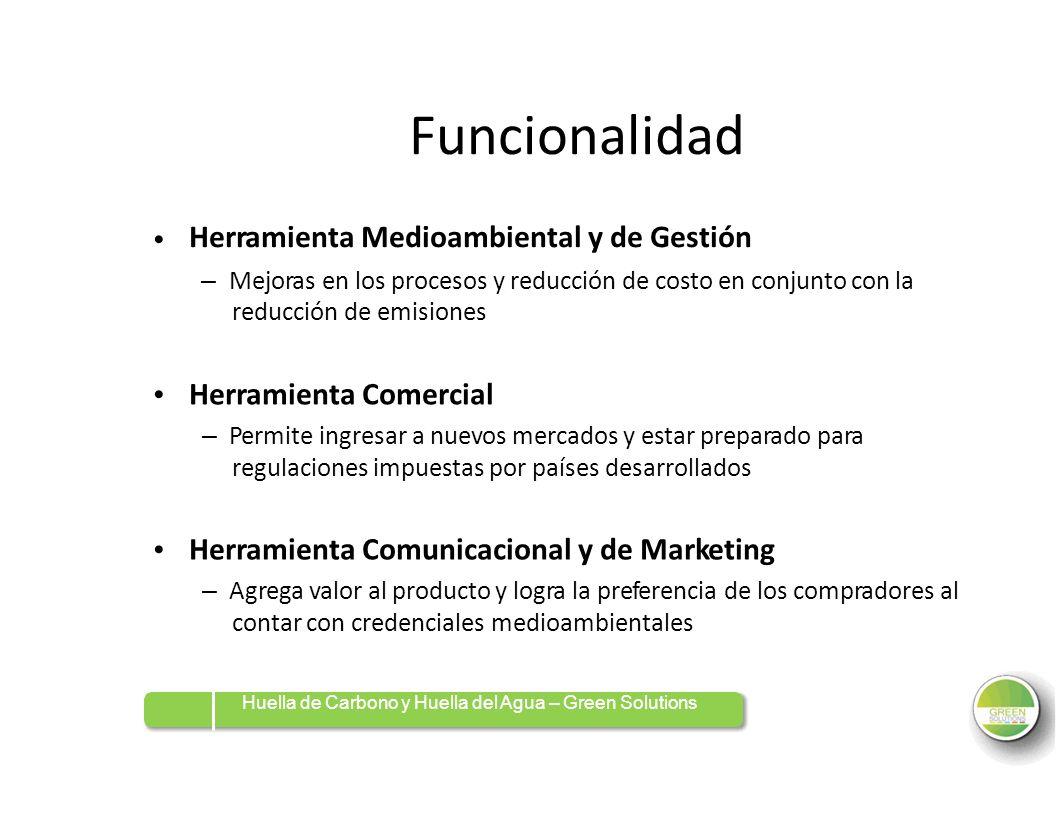 Funcionalidad Herramienta Comercial