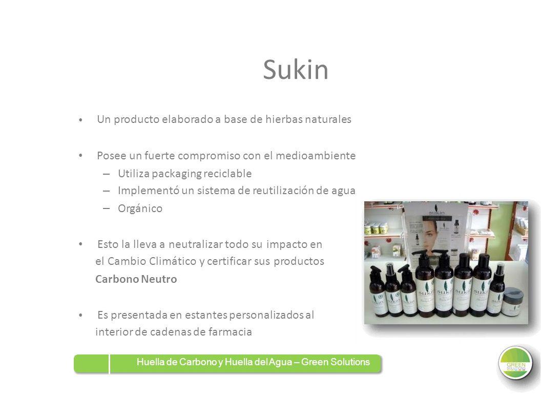 Sukin Posee un fuerte compromiso con el medioambiente