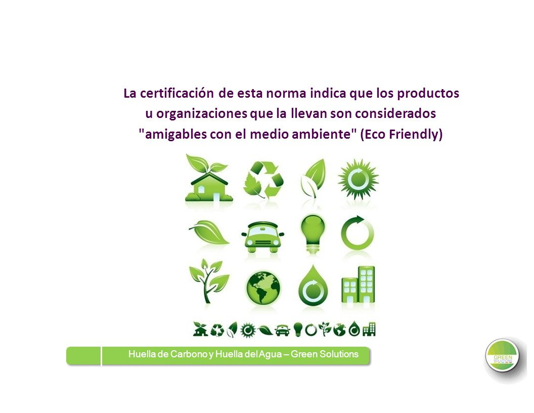 amigables con el medio ambiente (Eco Friendly)