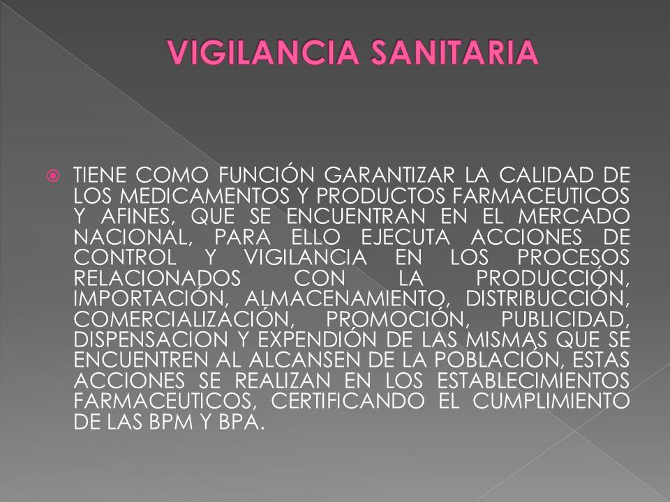 VIGILANCIA SANITARIA