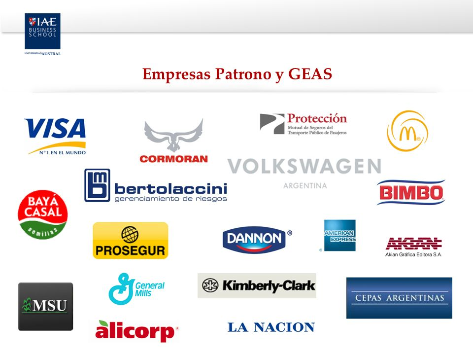 Empresas Patrono y GEAS