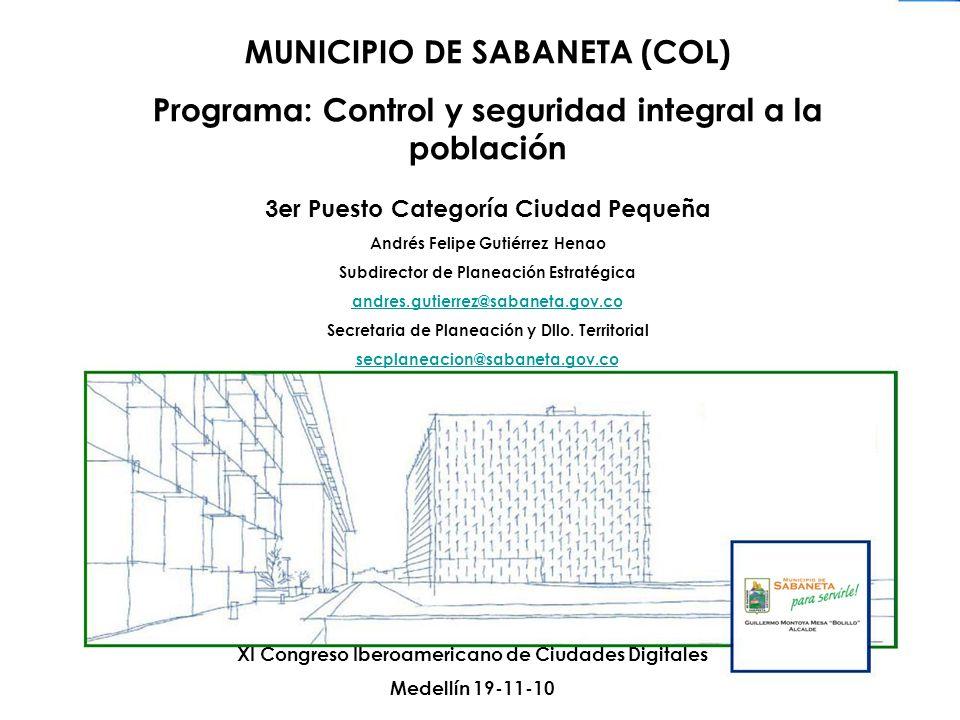 MUNICIPIO DE SABANETA (COL)
