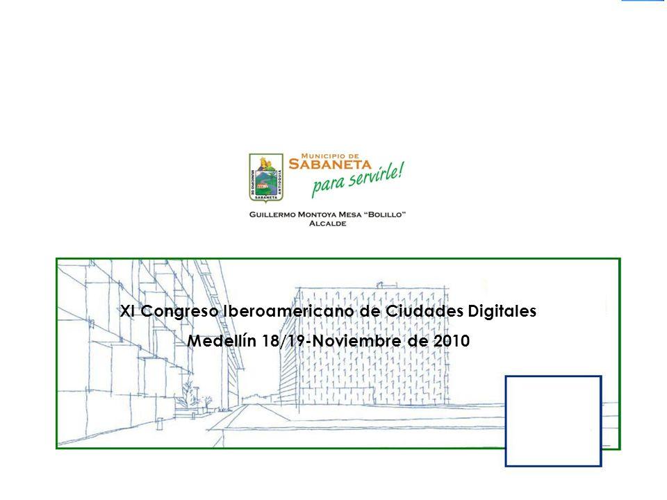 XI Congreso Iberoamericano de Ciudades Digitales