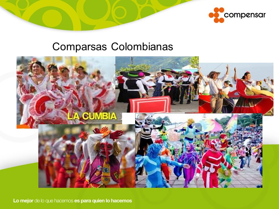 Comparsas Colombianas