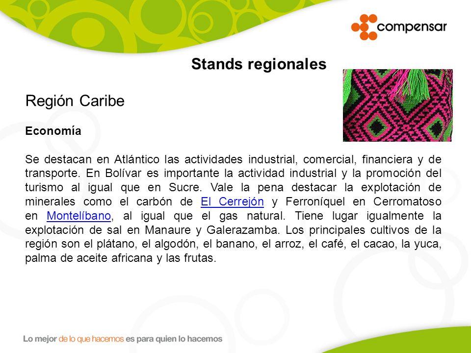 Región Caribe Economía