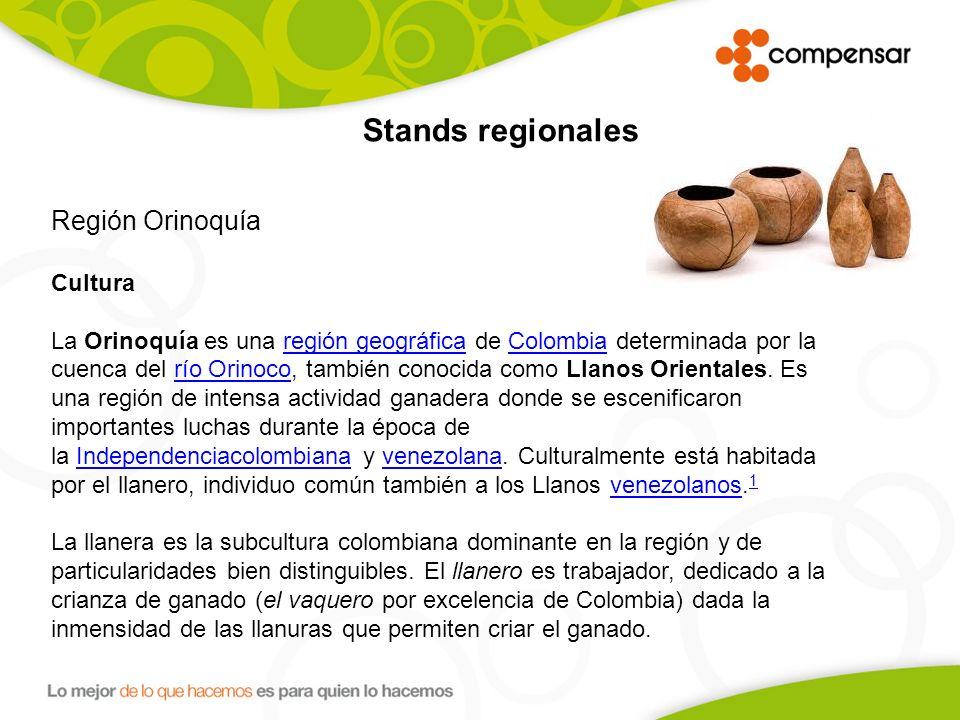 Región Orinoquía Cultura