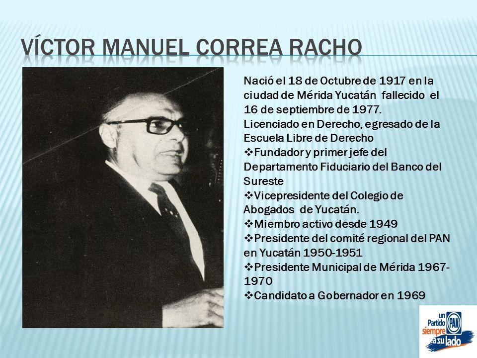Víctor Manuel correa racho