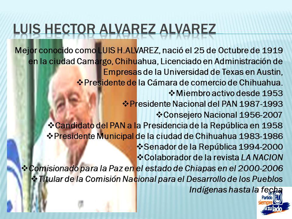 LUIS HECTOR ALVAREZ ALVAREZ