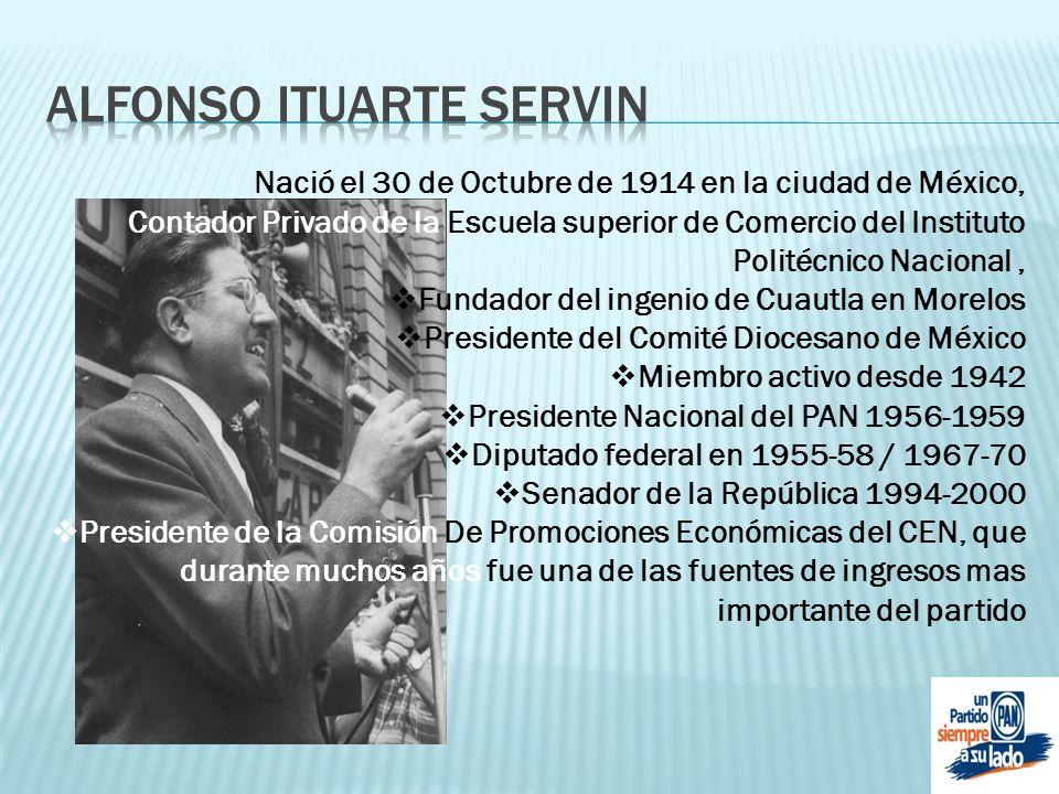 Alfonso ITUARTE SERVIN