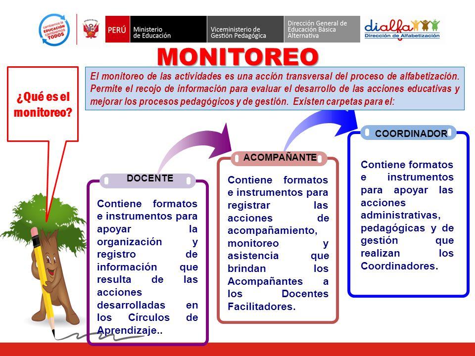 MONITOREO ¿Qué es el monitoreo