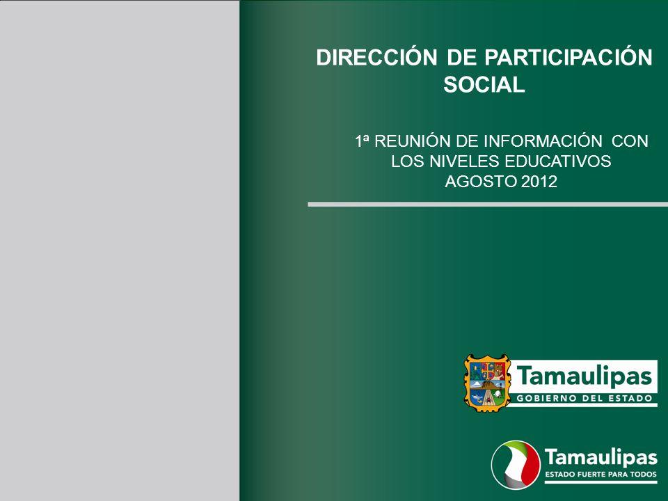 DIRECCIÓN DE PARTICIPACIÓN SOCIAL