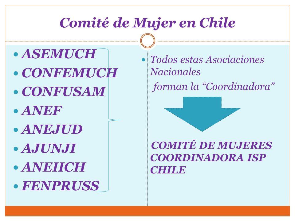 Comité de Mujer en Chile