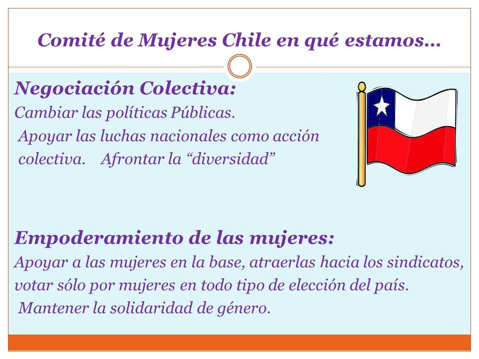 Comité de Mujeres Chile en qué estamos…