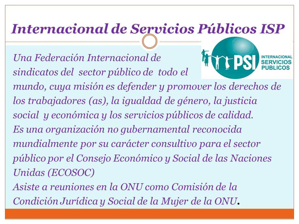 Internacional de Servicios Públicos ISP