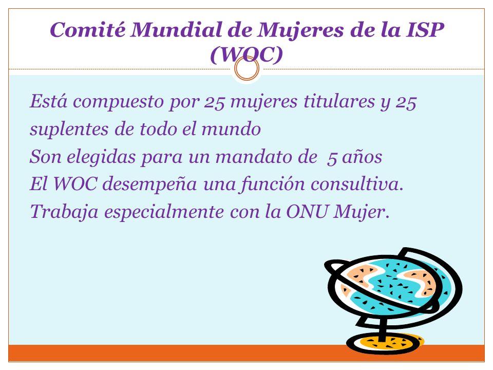 Comité Mundial de Mujeres de la ISP (WOC)