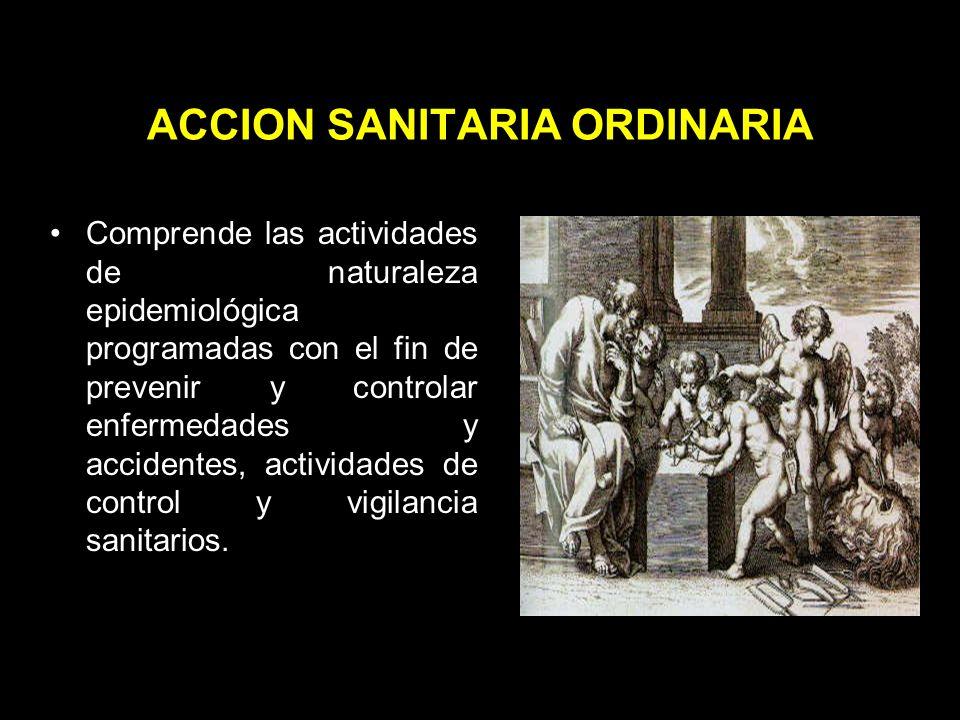 ACCION SANITARIA ORDINARIA