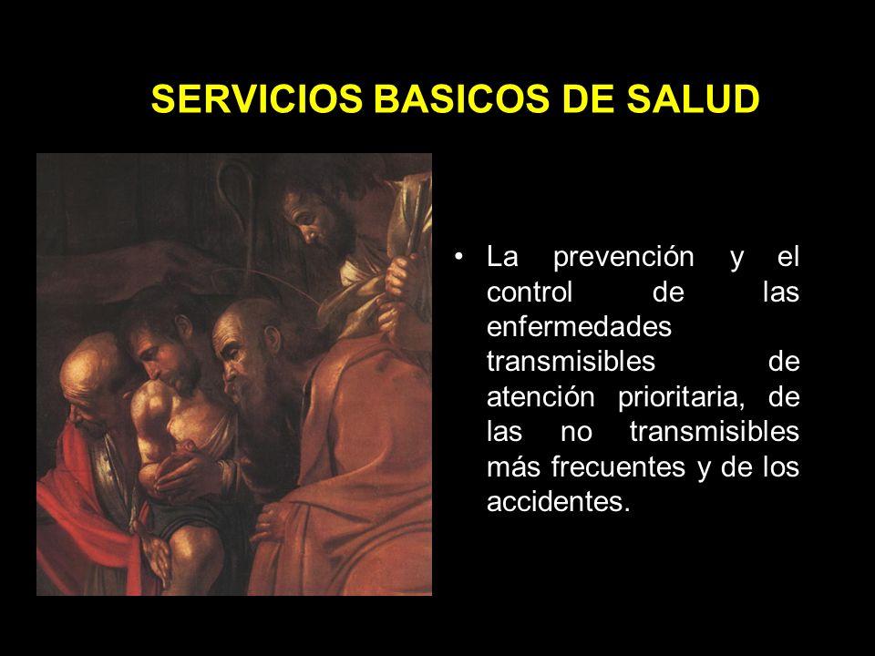 SERVICIOS BASICOS DE SALUD