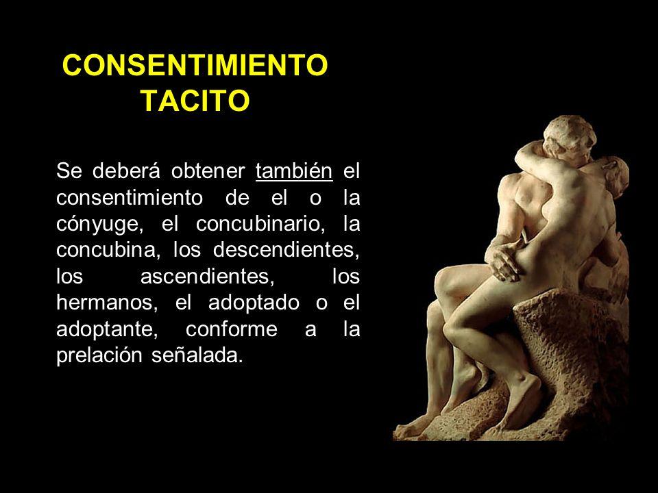 CONSENTIMIENTO TACITO