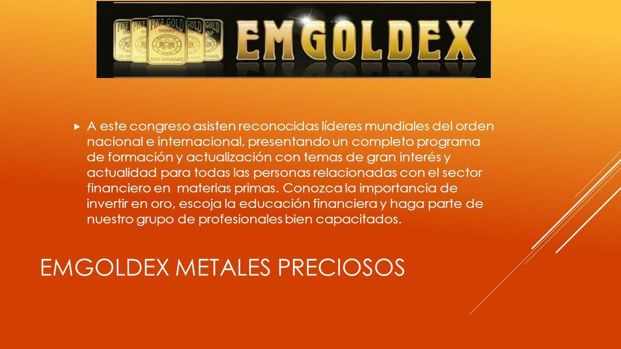 Emgoldex Metales preciosos
