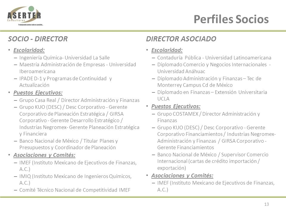 ASERTER Consultores, S. C