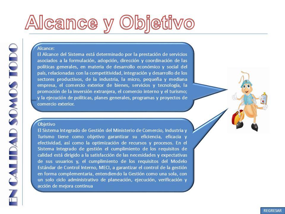Alcance y Objetivo Alcance: