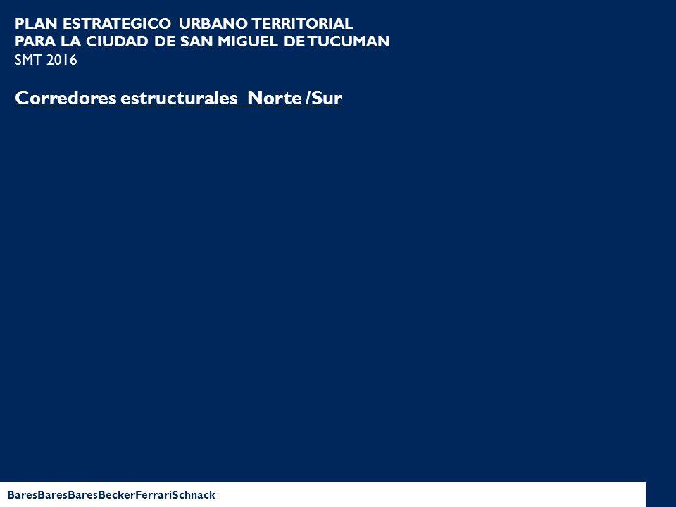Corredores estructurales Norte /Sur