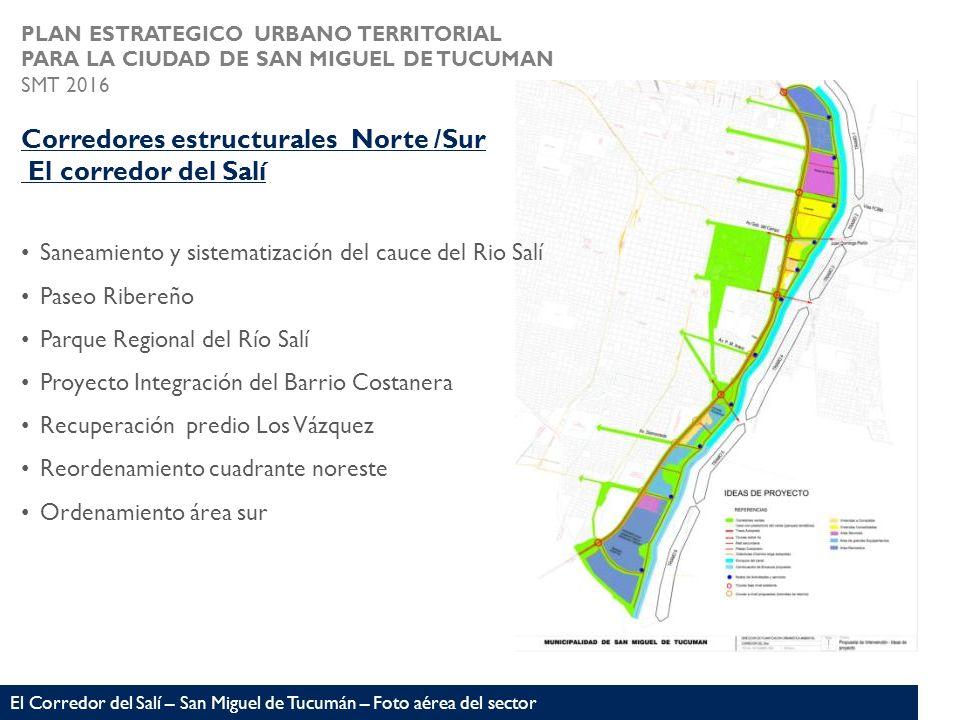 El Corredor del Salí – San Miguel de Tucumán – Foto aérea del sector