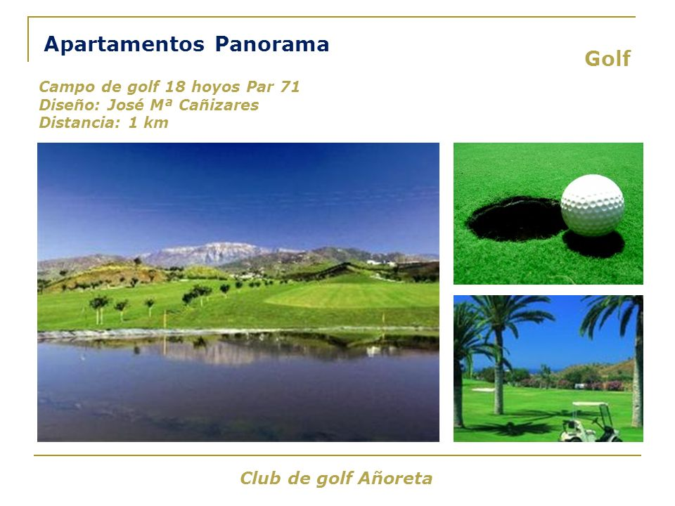 Apartamentos Panorama Golf