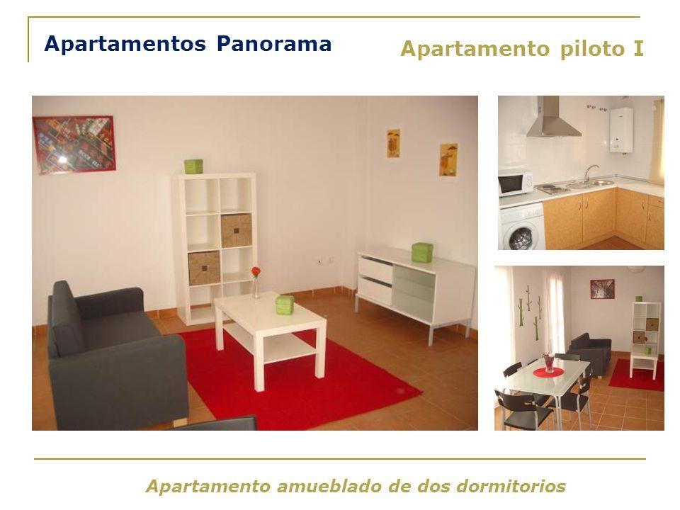 Apartamento amueblado de dos dormitorios