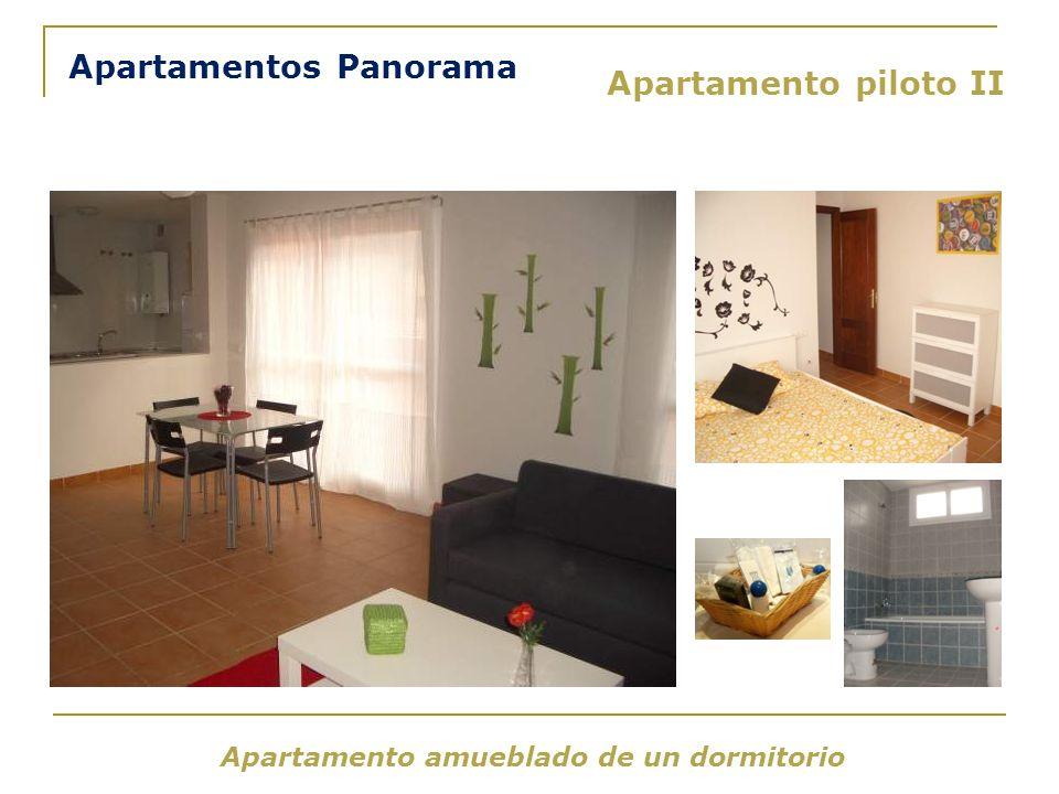 Apartamento amueblado de un dormitorio