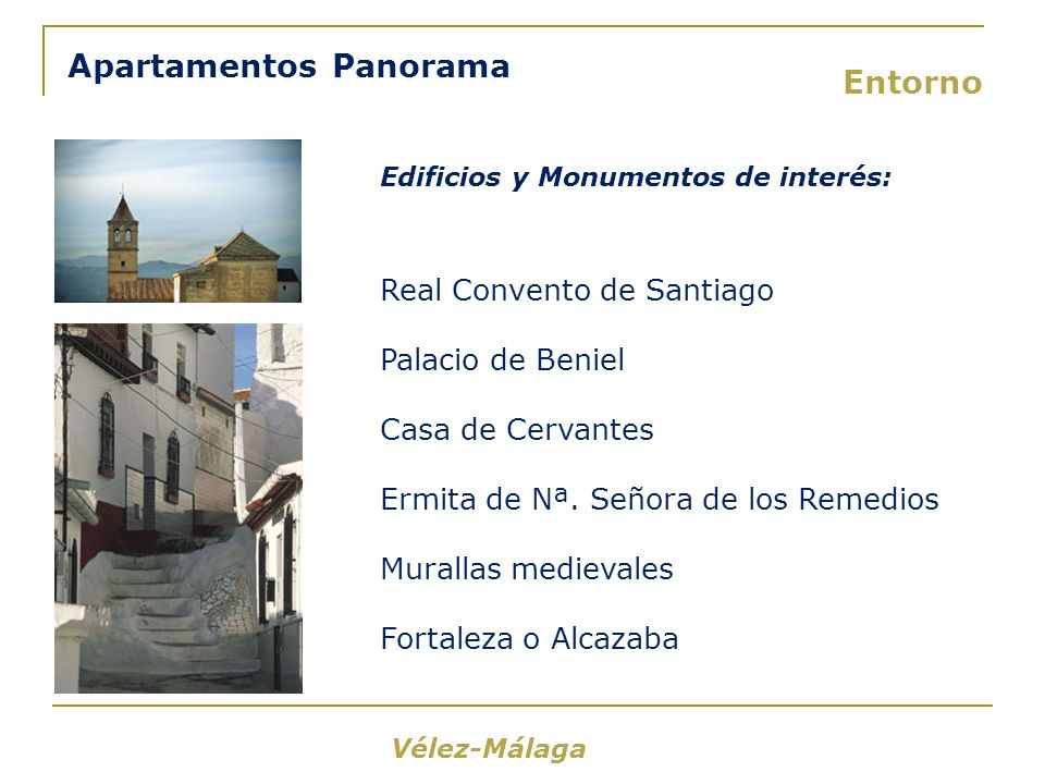 Apartamentos Panorama Entorno