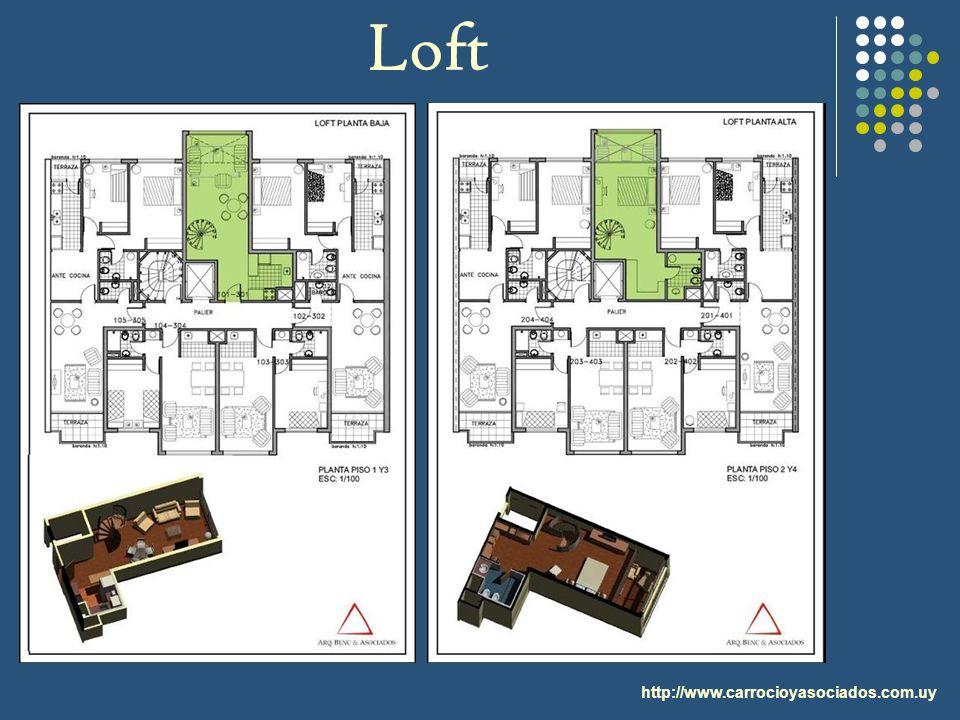 Loft http://www.carrocioyasociados.com.uy