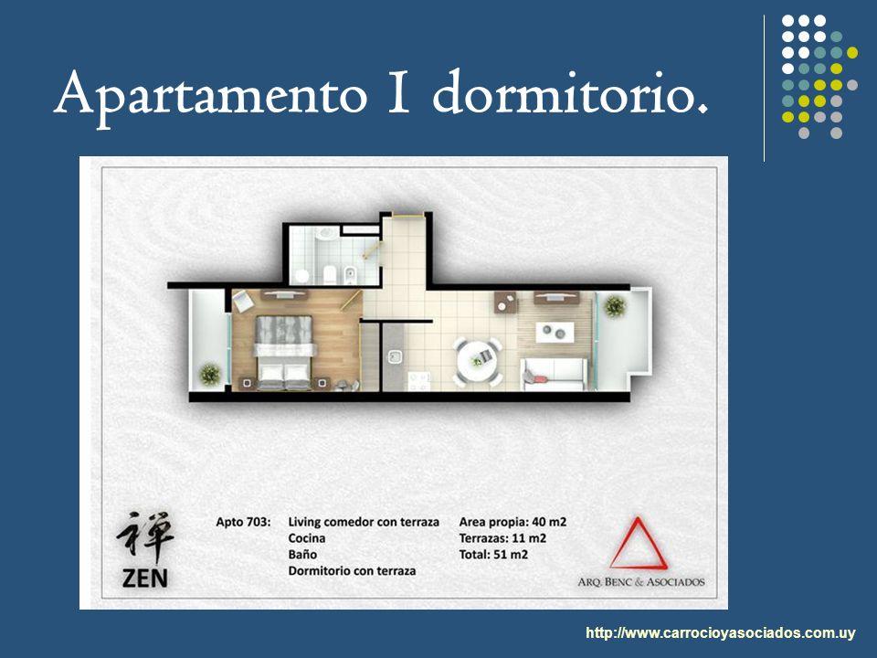 Apartamento 1 dormitorio.