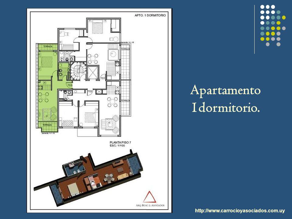 Apartamento 1dormitorio.