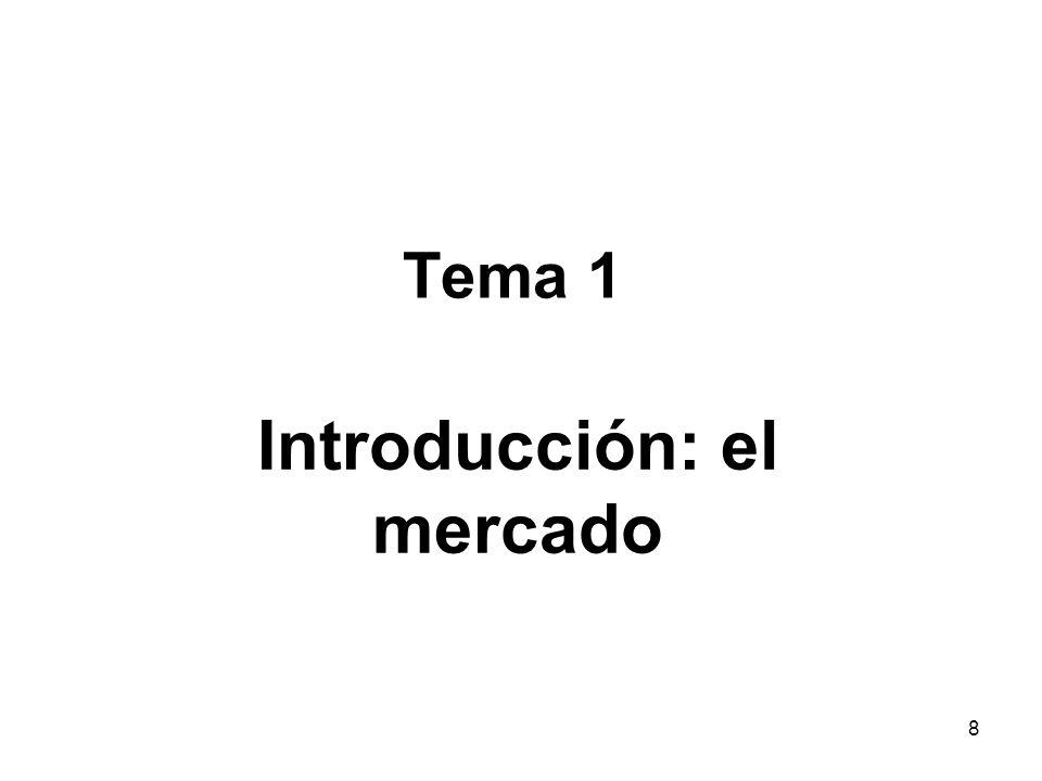 Introducción: el mercado