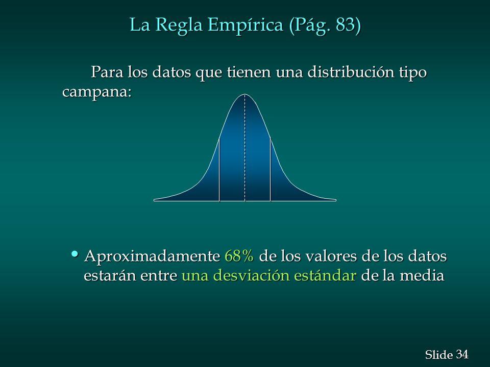 La Regla Empírica (Pág. 83)