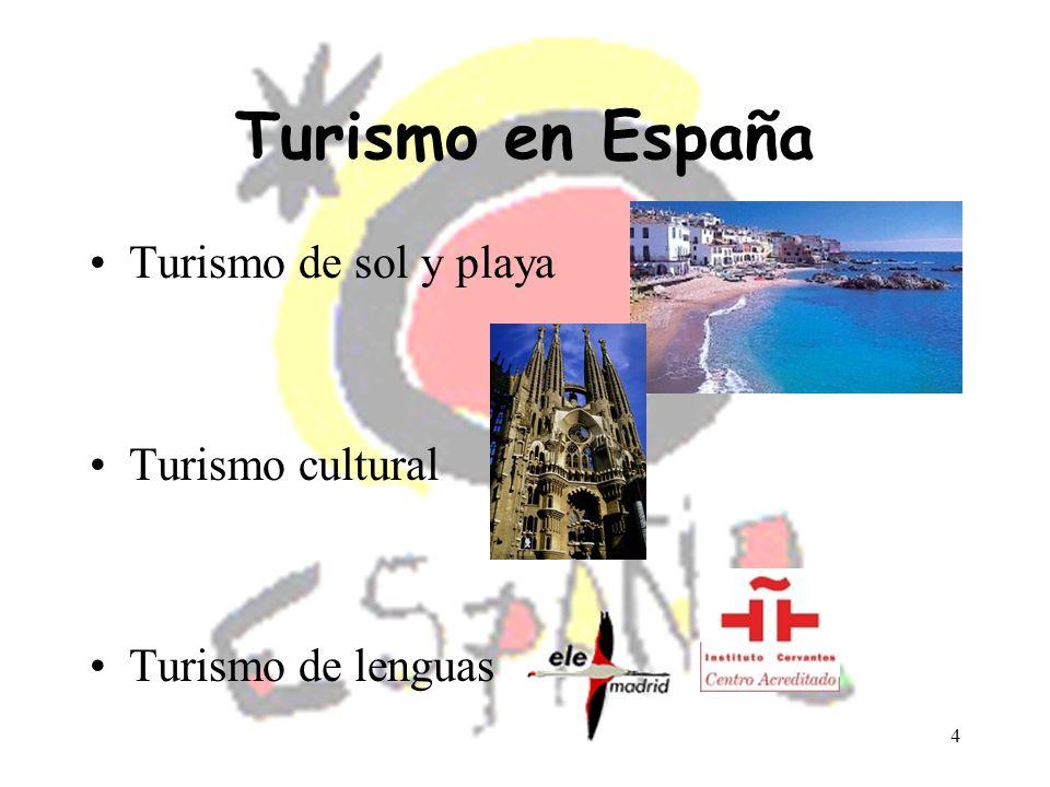 Turismo en España Turismo de sol y playa Turismo cultural