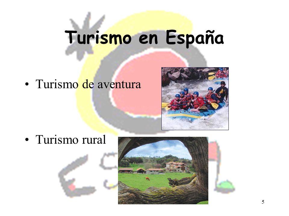 Turismo en España Turismo de aventura Turismo rural
